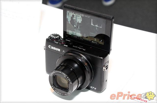 搶攻 1 吋感光 Canon G7 X 自拍機試玩