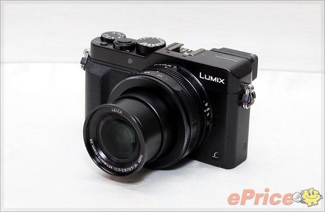 4/3 感光元件、4K 拍片 Panasonic LX100 抵港