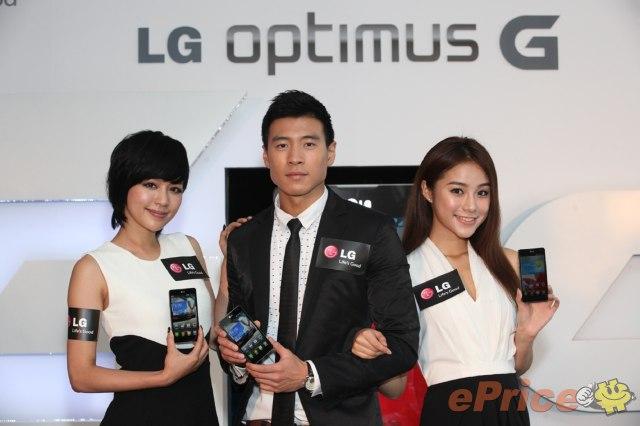 LG Optimus G 發佈會 Model 圖集