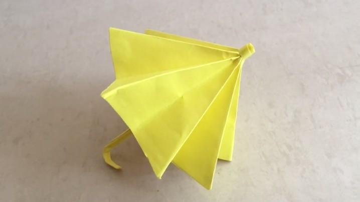 動手做!DIY 小小黃雨傘教學