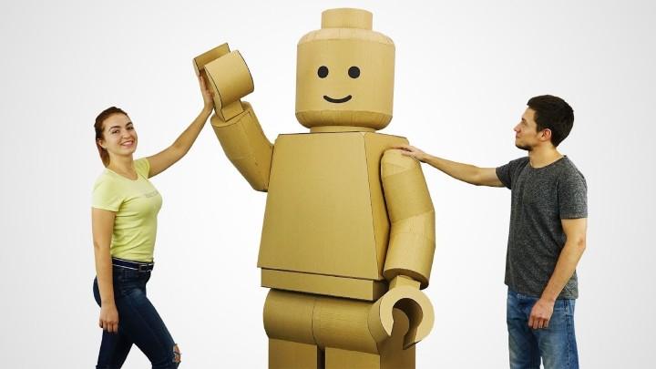 似到十足十!自製萬聖節 LEGO Minifig 服裝