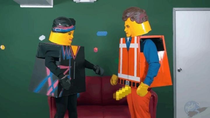 向 LEGO 電影致敬?!LEGO「四仔」網上現身