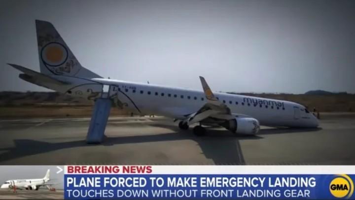 同死神擦肩而過!緬甸機師神級技術救返全機人