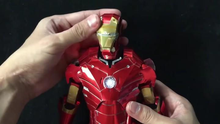神級手作!可樂罐變身 Iron Man、雷神之錘