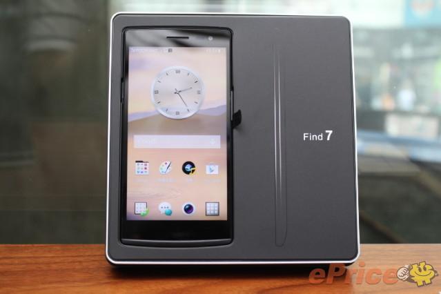2K 屏幕大戰 LG G3 !Oppo Find 7抵港開箱試跑分!