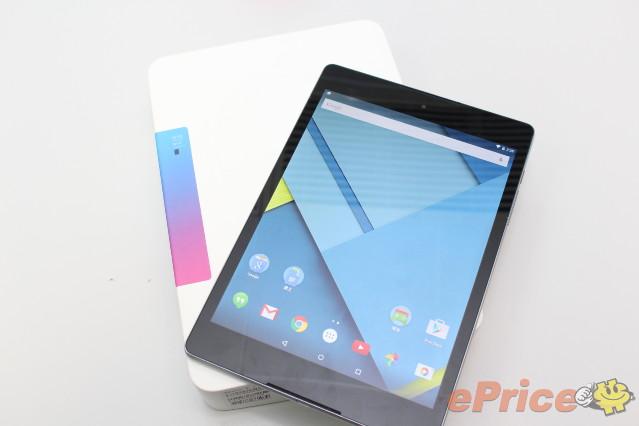 Google Nexus 9 正式抵港!開箱跑分、機身比拼 iPad Mini!