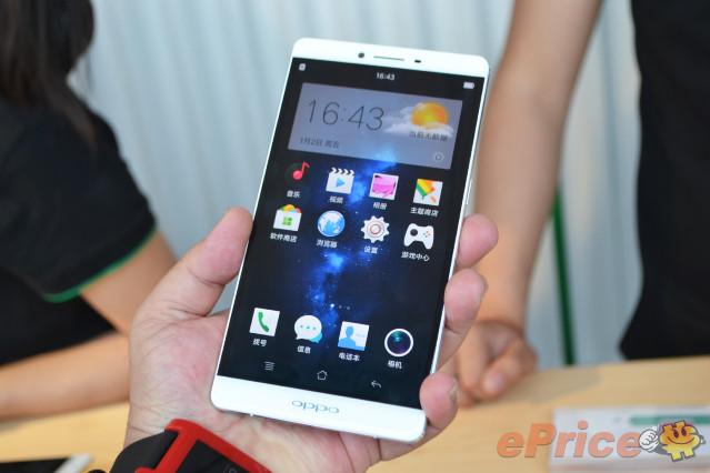 4100mAh 巨量電! 六吋大芒 4G 全網通 Oppo R7 Plus 發表