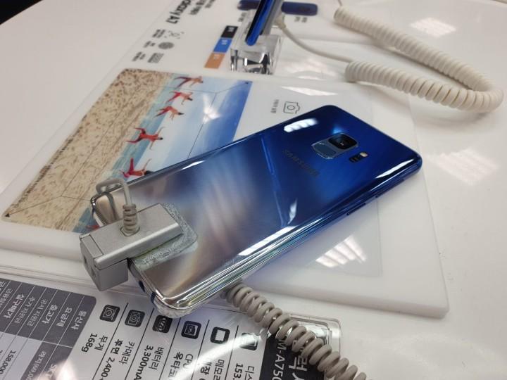 冬季風格,三星 Galaxy S9、S9+ 海外新增北極星藍漸層色款式