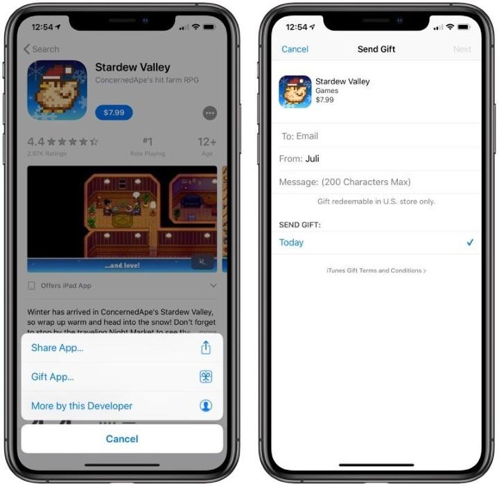 Apple 修改 App Store 條款,遊戲虛寶可當禮物送人