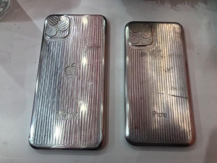 配件廠金屬模具曝光,2019 新 iPhone 三鏡頭模組真的就長這樣?