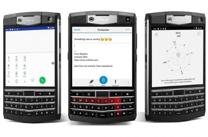 三防 + QWERTY 鍵盤!Unihertz Titan 向經典 BlackBerry 致敬 - 3