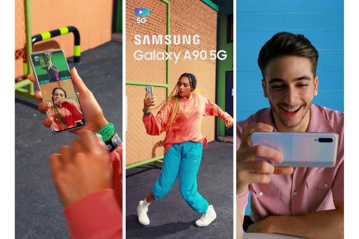 A 系列首款 5G 手機!三星 Galaxy A90 造型亮相、可能在 IFA 2019 正式發表 - 4