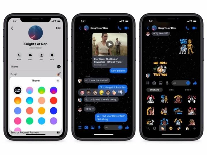 星戰迷注意!FB Messenger 加入酷炫星戰 AR 特效   - 2