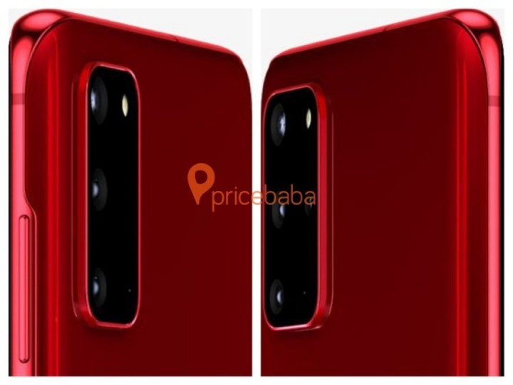 超搶眼視覺效果,三星 Galaxy S20 後續還將推紅色款式 - 2