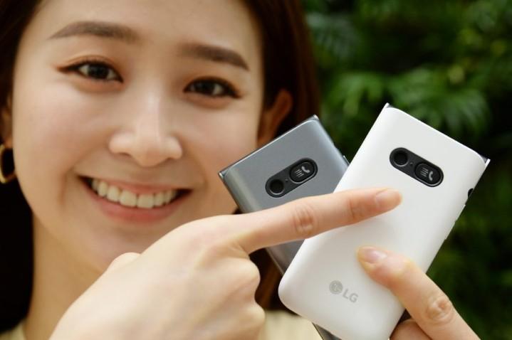 實體按鍵摺疊貝殼機,LG Folder 2 有 AI 助理、攻銀髮族市場