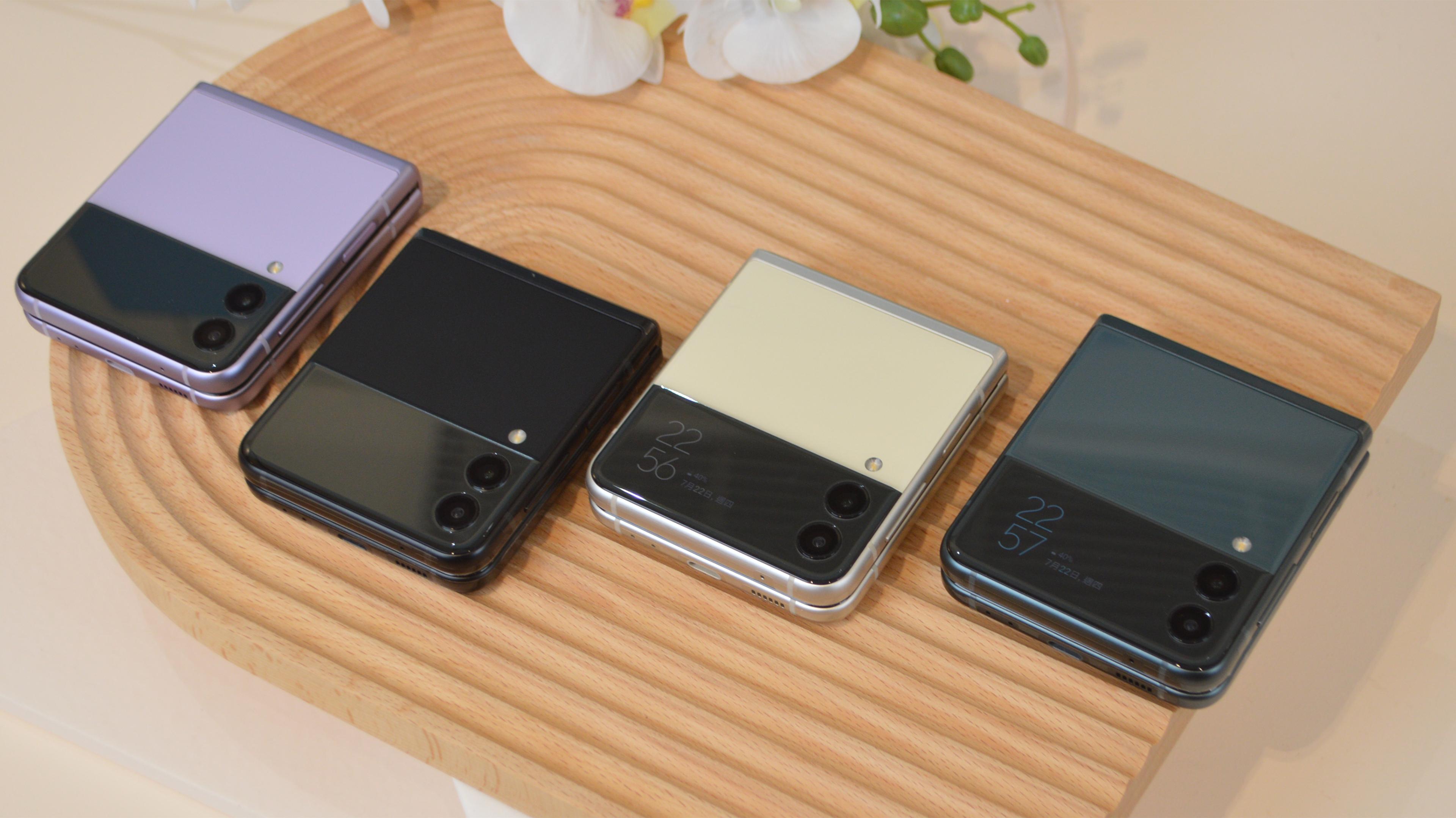 玩色的摺芒機:三星 Galaxy Z Flip3 上手試