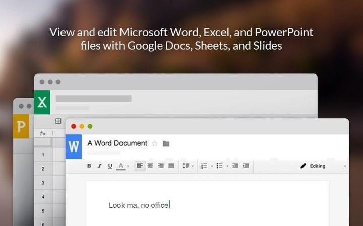 免轉檔直接可修改,Google Docs 全面支援 Office 檔案
