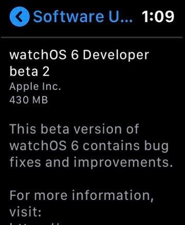 不再依賴 iPhone,watchOS 6 將可讓 Apple Watch 支援 OTA 系統更新 - 2