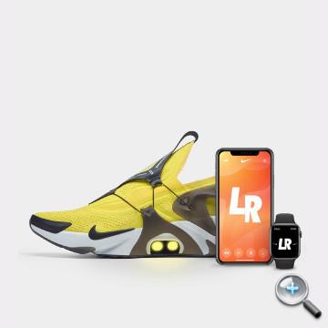 用 iPhone、Apple Watch 幫你鬆開鞋帶!Nike 科幻感 Adapt Huarache 運動鞋發表   - 2