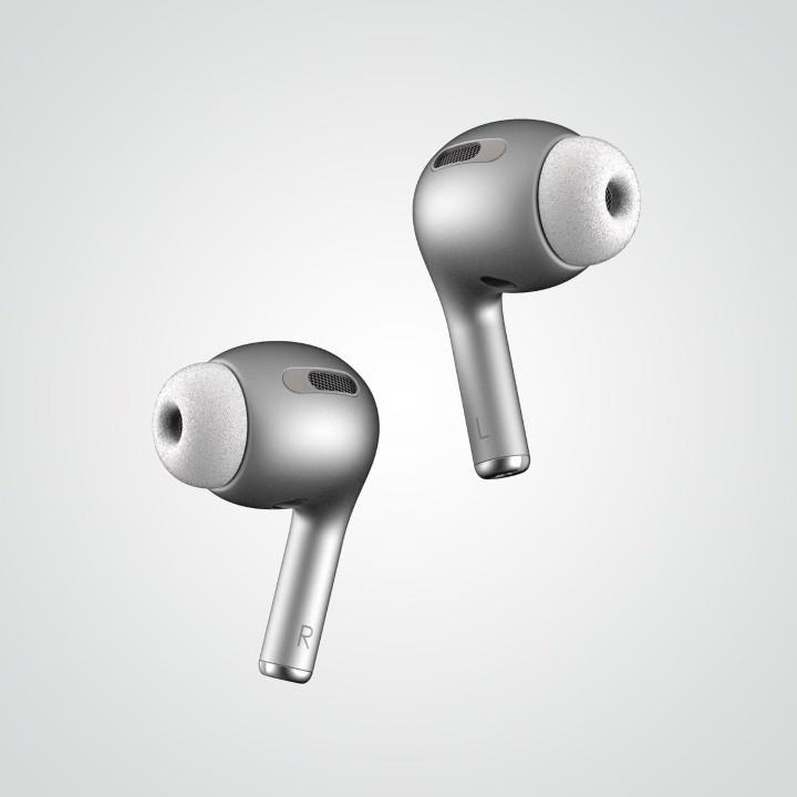 有降躁機能、10 月底發表?Apple AirPods 3 設計概念圖曝光 - 3
