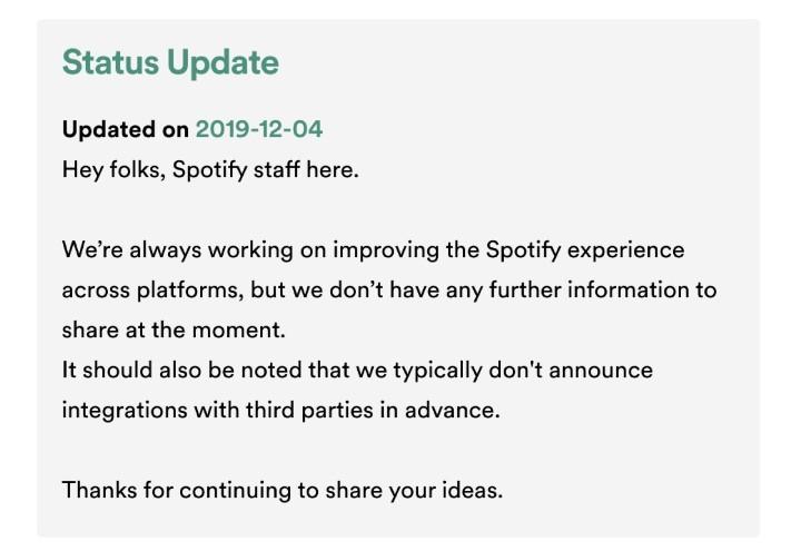 想用 Spotify 聽音樂?Switch 用戶死了這條心吧