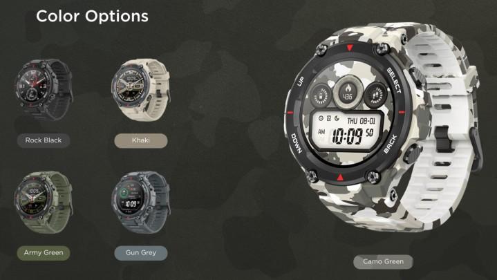 挑戰卡西歐三防智慧錶,小米 Amazfit T-Rex 有軍規認證、電力最長達 66 天