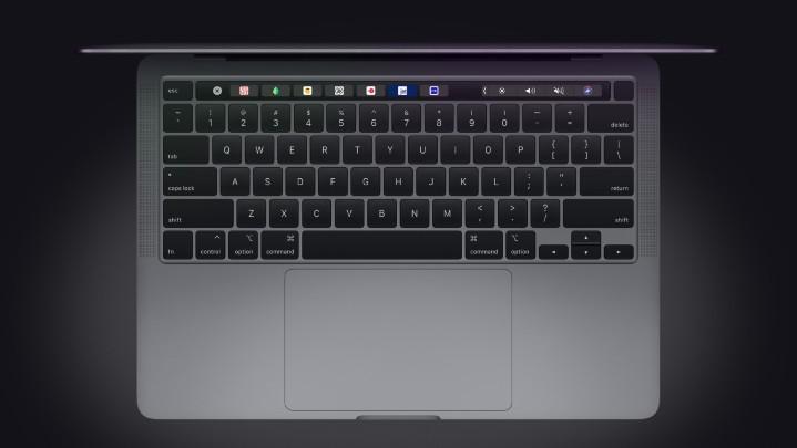 全新 13 吋 MacBook Pro 亮相 :改用剪刀腳鍵盤、第 10 代 Intel Core 處理器