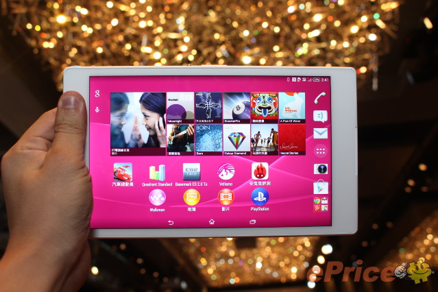 薄身+防水!Sony Xperia Z3 Tablet Compact 版主體驗分享!