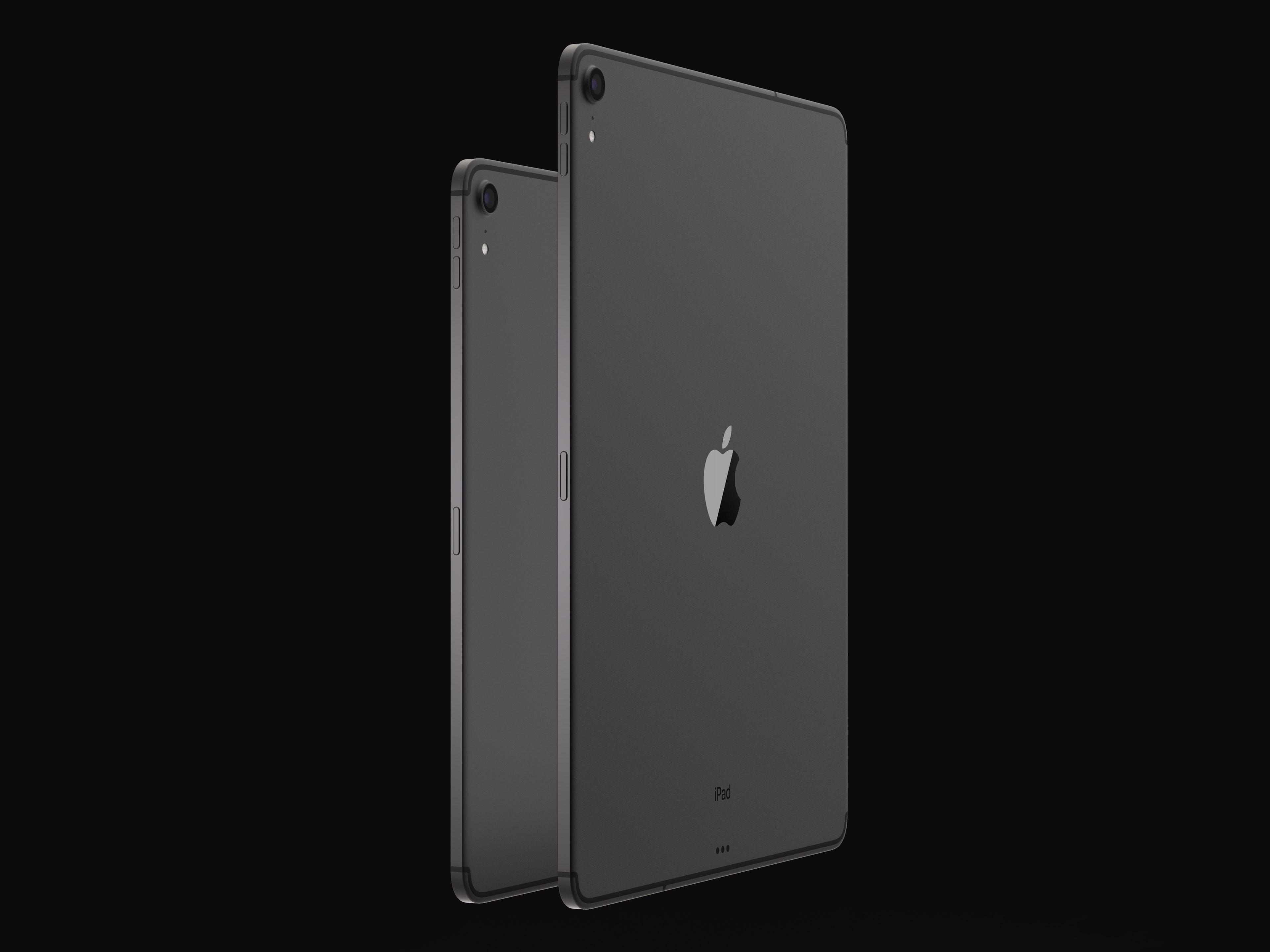 iPad Pro 2018 設計搶先睇 Face ID、USB-C、極窄邊框