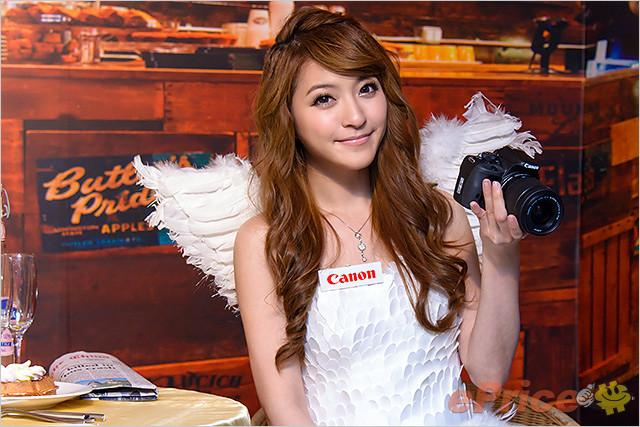 Canon EOS 100D 發佈會 Model 圖集