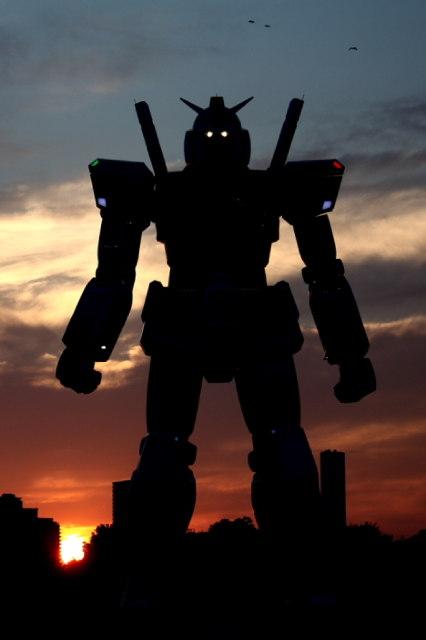 日本的原吋鋼彈機器人-0