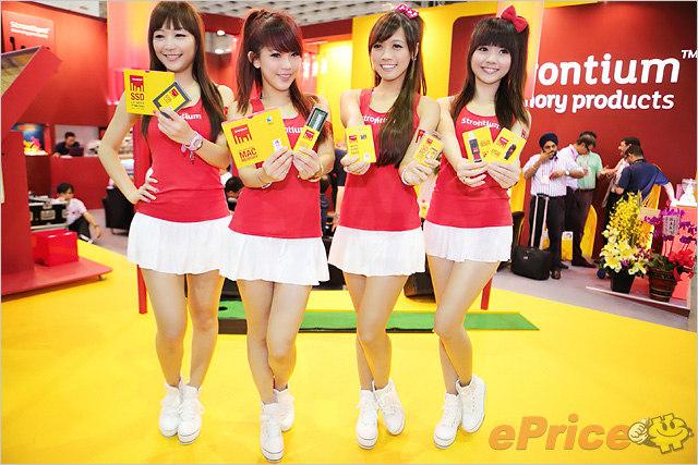 Computex 2012 台北南港展館 Show Girls 寫真圖集