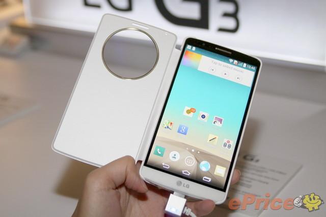LG G3 效能跑分測試與 2K 螢幕旗艦比拼