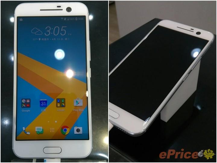 搶先全球!HTC 10 展示機已經在台灣 HTC 專賣店門市陳列