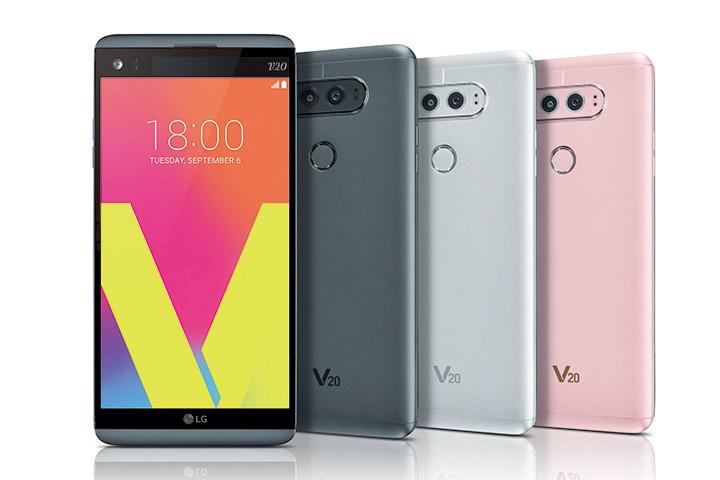 LG V20 發表:雙主鏡頭、軍規防摔、可換電池、4G+3G 雙待