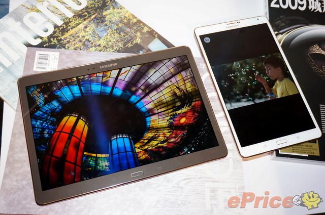Samsung Tab S 10.5 與 8.4 上市前 多圖詳細試玩